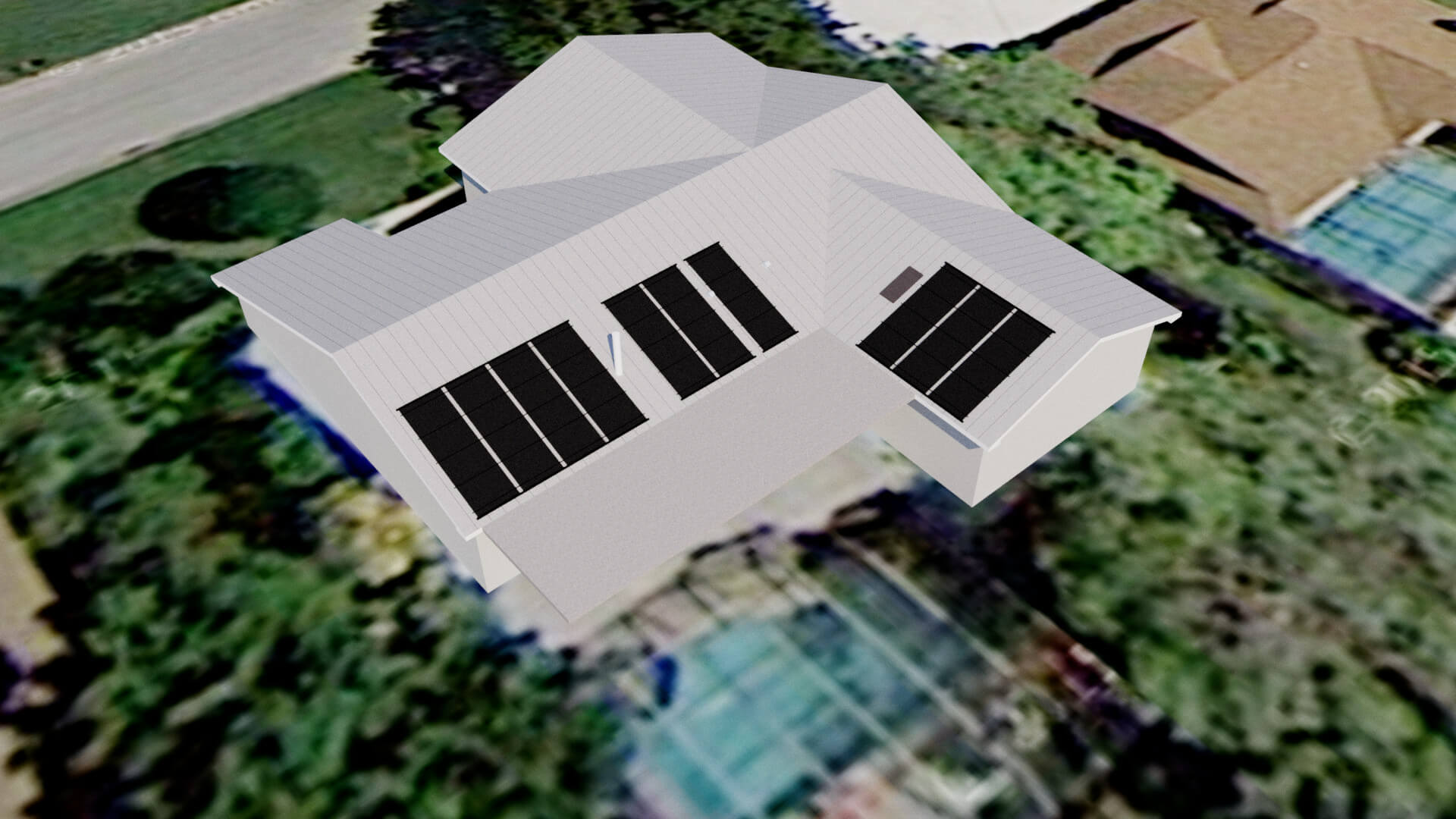 Fort Myers, FL Home with Roof Vents Wants Solar Panels
