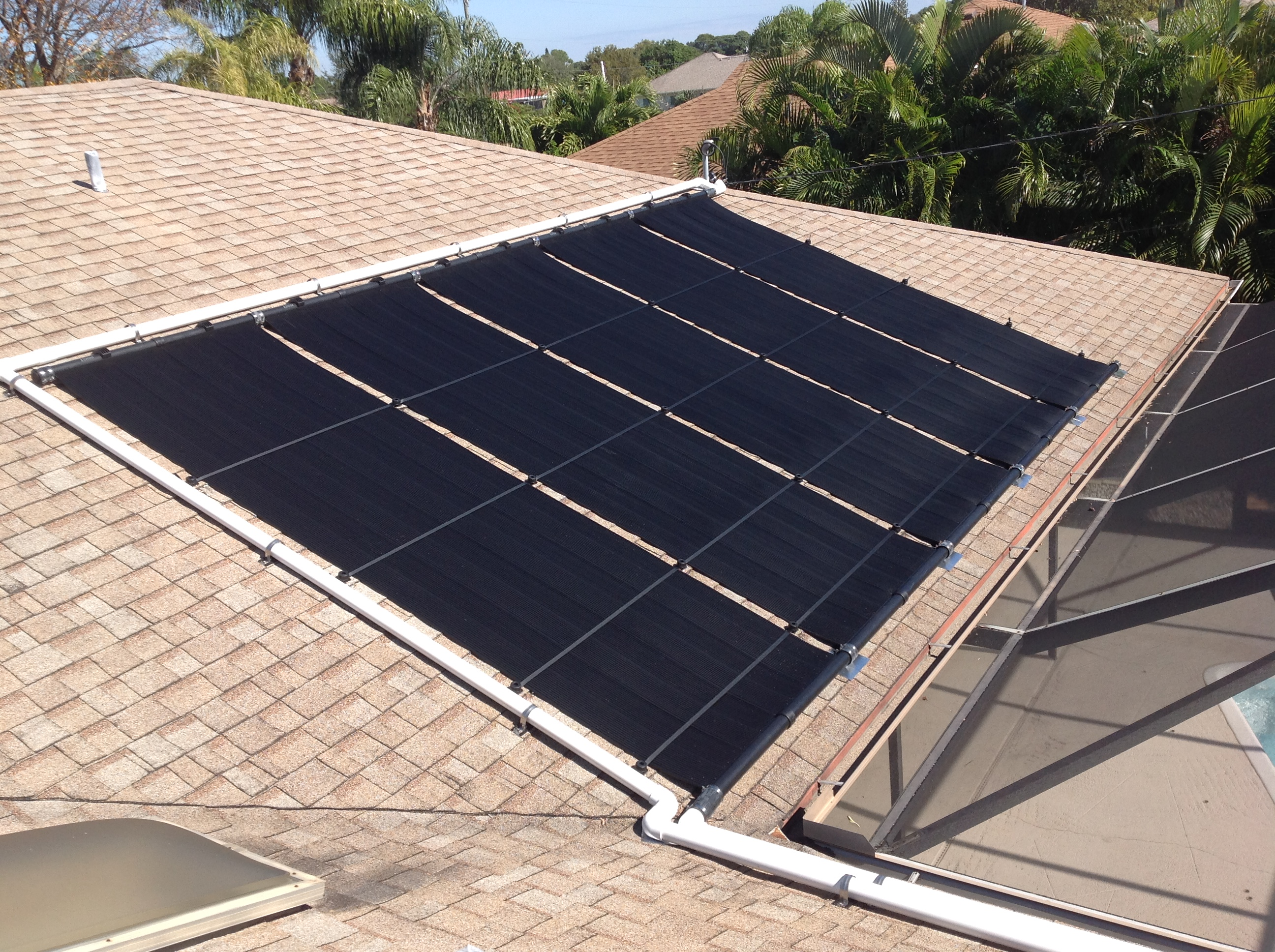Solar Pool Heating Panels (Cape Coral)