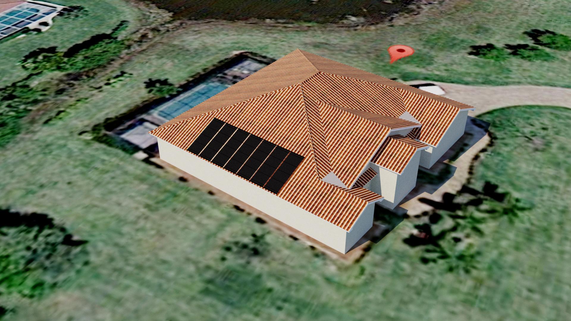 Solar Pool Panels On Tile Roofs