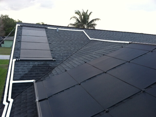 Fort Myers, FL Solar Pool Heating on Challenging Roof in San Carlos Area