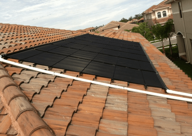 Naples, FL Solar Pool Heating Picture