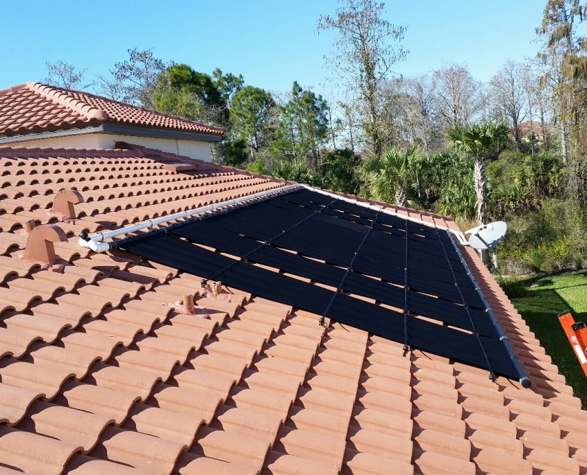 Naples Tile Roof Solar Panel Installation