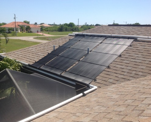 2 Foot Wide Solar Pool Heating Collector