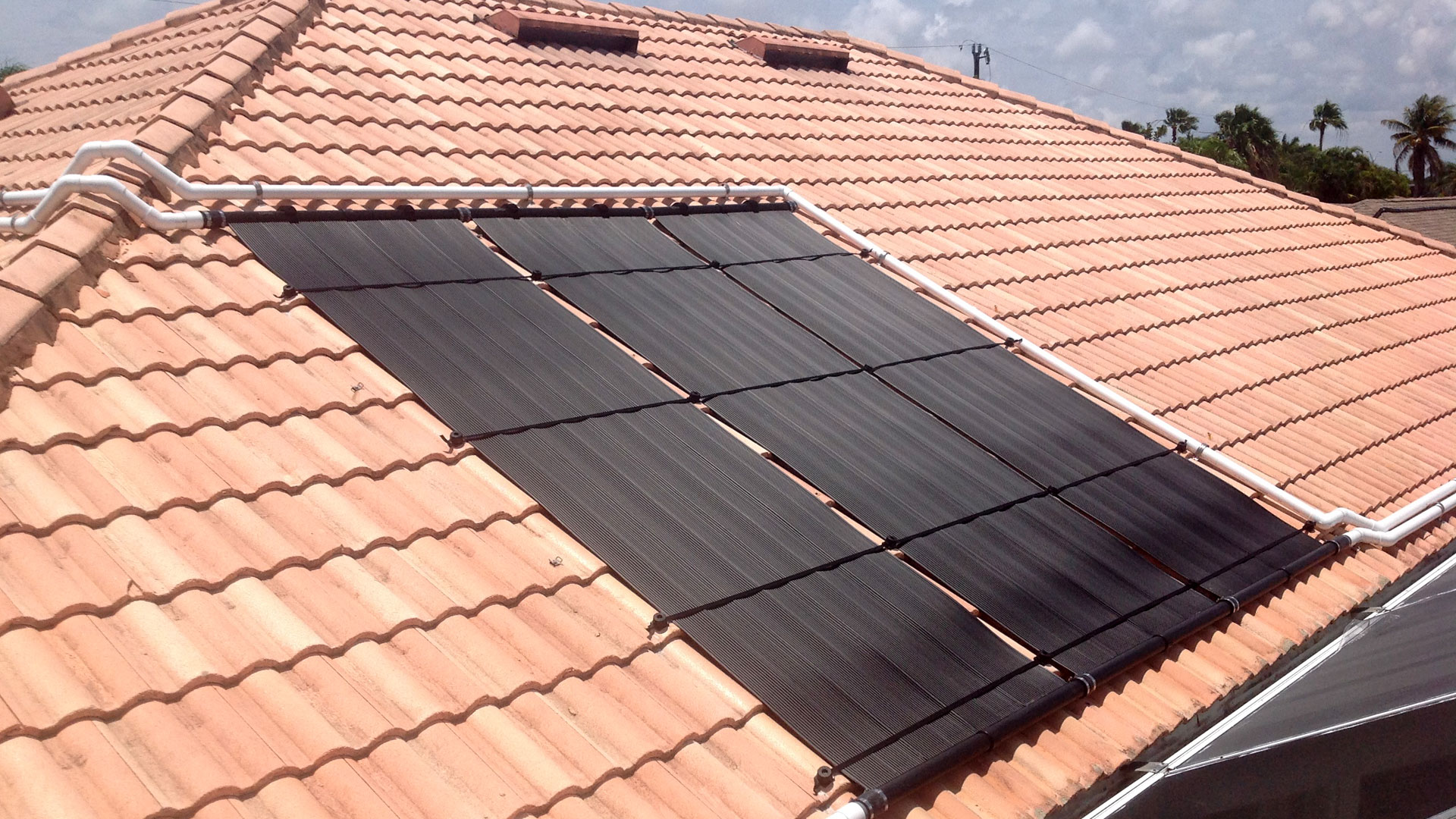 New Solar Pool Heating System In Cape Coral Fl