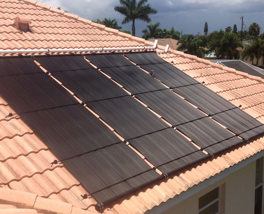 Solar Panels for Pool Heat in Cape Coral